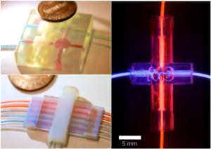 3D Printed Multimaterial Microfluidic Valve